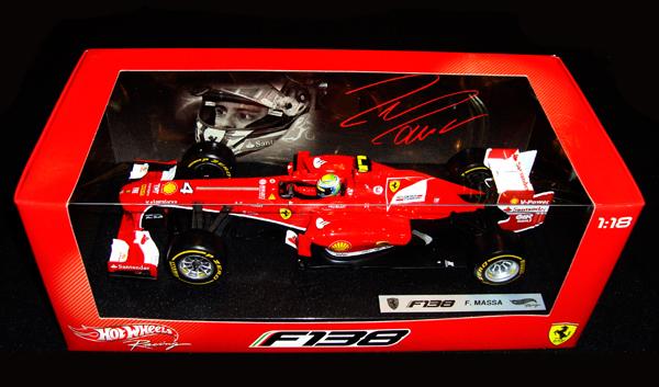 マテル 1/18 フェラーリ F138 F.マッサ 2013年本戦