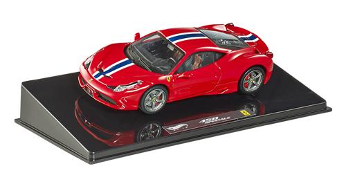 マテル 1/43 フェラーリ 458 スペチアーレ レッド