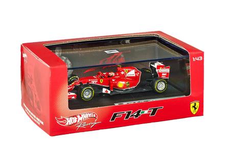 マテル 1/43 フェラーリ F14-T K.ライコネン NO.7(ドライバー付)2014
