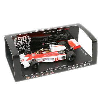マクラーレン50周年別注 スパーク 1/43 マクラーレンM23D J.ハント 1976年 ワールドチャンピオン