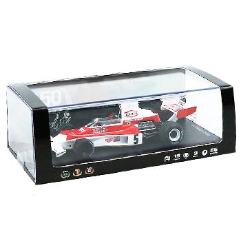 マクラーレン50周年別注 スパーク 1/43 マクラーレンM23B E.フィッティパルディ 1974年ワールドチャンピオン