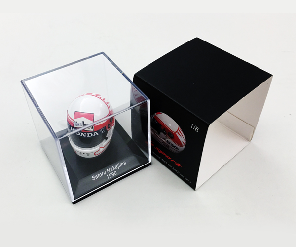 F1ショップ グランプリ別注 スパーク 1/8  中嶋 悟ヘルメットコレクション 第4弾 1990年仕様