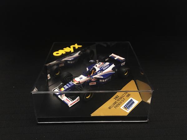 ONYX 1/43 ウィリアムズ ルノー FW18 NO.6(ビルニューブ) 1996フランスGP