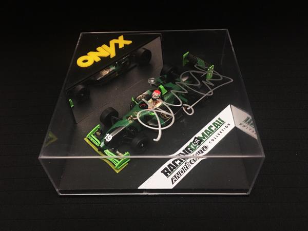 アンドレ・クート 直筆サイン入 ONYX 1/43 ダラーラ F397 アンドレ・クート 1998年マカオGP
