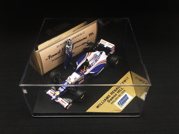 GODE別注 ONYX 1/43 ウィリアムズ ルノー FW17 D.ヒル