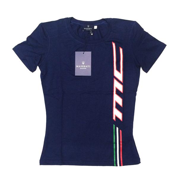 マセラティ レディース  MC(マセラティ・コルセ)ラインTシャツ (サイズ S・M)