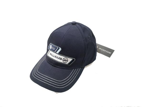 ウィリアムズ 2010チーム供給品 テストドライバー(ボッタス)用キャップ   マクレガー社製 新品タグ付
