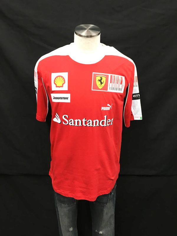 2010年 フェラーリ チーム支給品 チームTシャツ 新品 サイズL