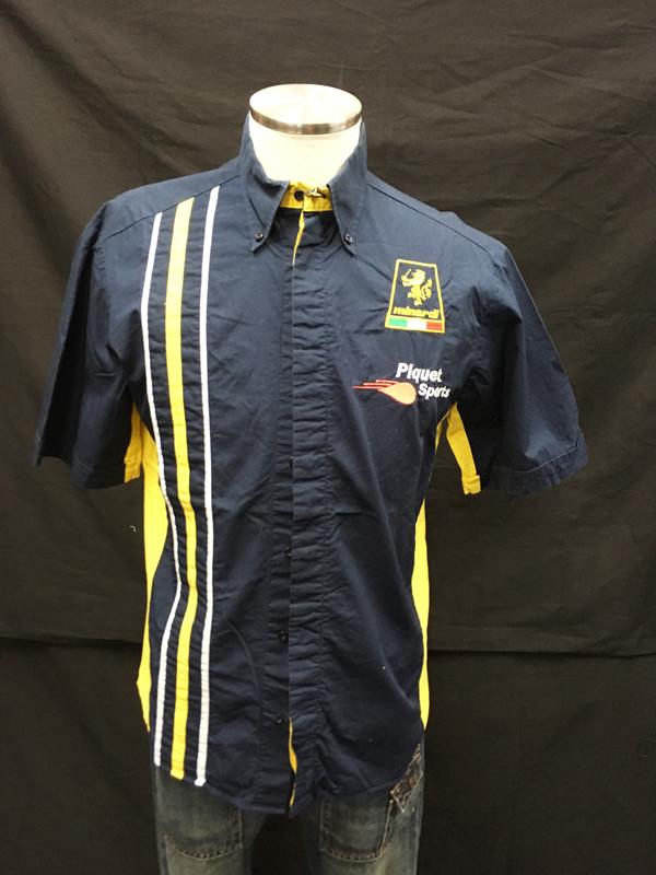 ミナルディ GP2 ピケ チーム支給品 PITシャツ USED サイズM