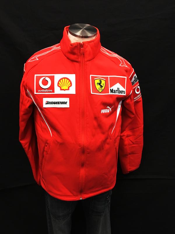 2006年 フェラーリ チーム支給品 フリース マルボロ USED サイズM