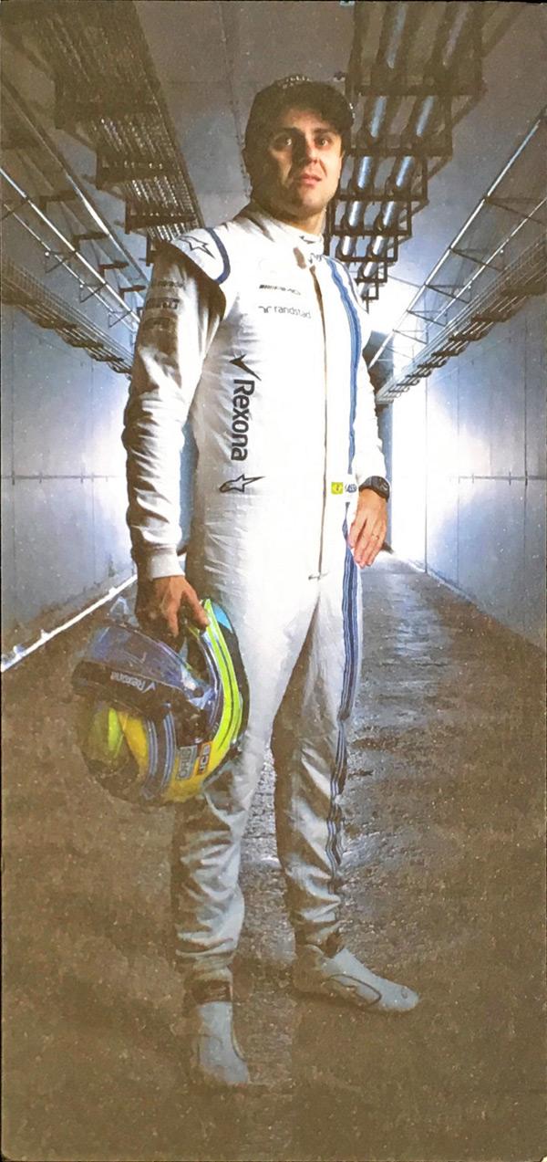 2017 ウィリアムズ ドライバーズカード F.マッサ