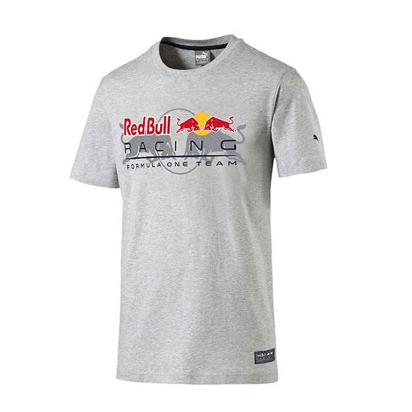 PUMA REDBULL 2016SS レッドブル   ロゴTシャツ グレー