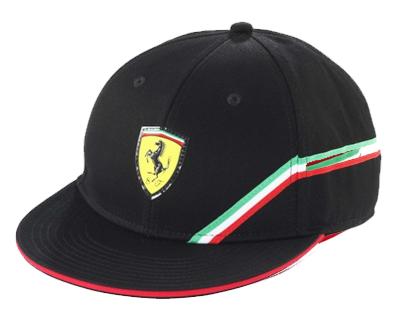 フェラーリ トラッカーキャップ ブラック (キッズキャップ)