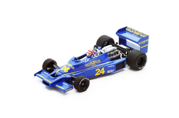 スパーク 1/43 ヘスケス 308E E.チーバー 1978年南アフリカGP No.24