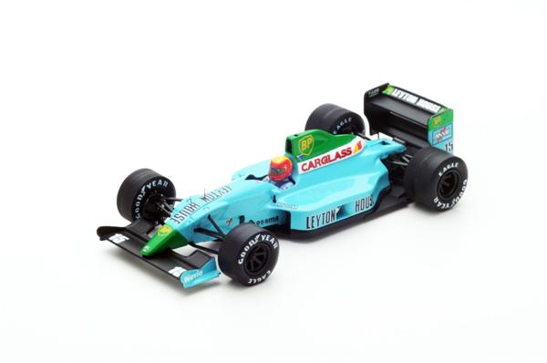 スパーク 1/43 レイトンハウスCG901 M.グージェルミン 1990年フランスGP No.15
