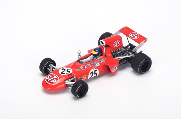 スパーク 1/43 マーチ711 R.ピーターソン 1971年イタリアGP2位 No.25
