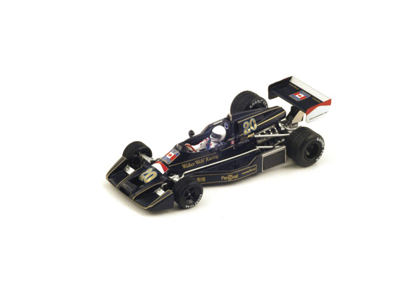 スパーク 1/43  ウィリアムズ FW05  A.メルツァリオ 1976年日本GP No.20