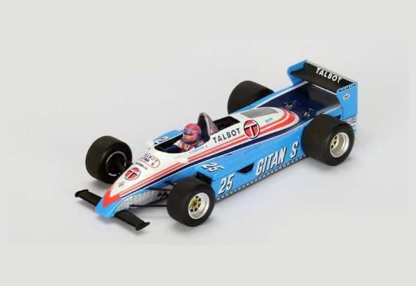スパーク 1/43  リジェ JS19 E.チーバー1982年ラスベガスGP3位 No.25