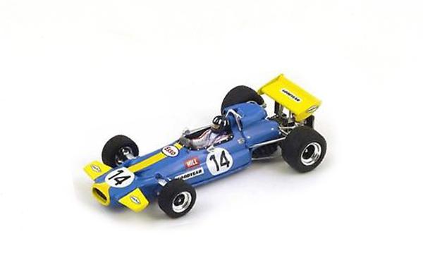 スパーク 1/43  ブラバム BT33 G.ヒル 1971年南アフリカGP No.14