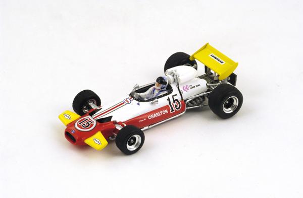 スパーク  1/43 ブラバム BT33  D.チャールトン 1971年南アフリカGP No.15