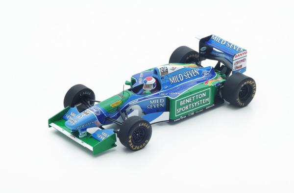 スパーク 1/43 ベネトン B194 J.フェルスタッペン 1994年ベルギーGP3位 No.6