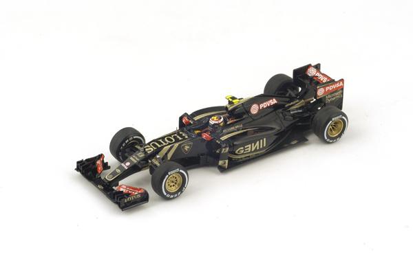 スパーク 1/43 ロータス E23   P.マルドナルド 2015年マレーシアGP No.13
