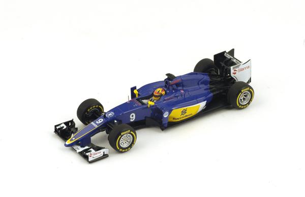 スパーク  1/43 ザウバー C34 M.エリクソン 2015年オーストラリアGP No.9