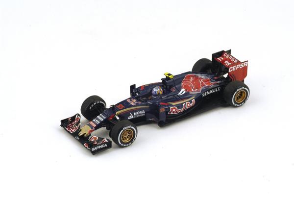スパーク 1/43 トロロッソ STR10 K.サインツJr 2015年マレーシアGP No.55