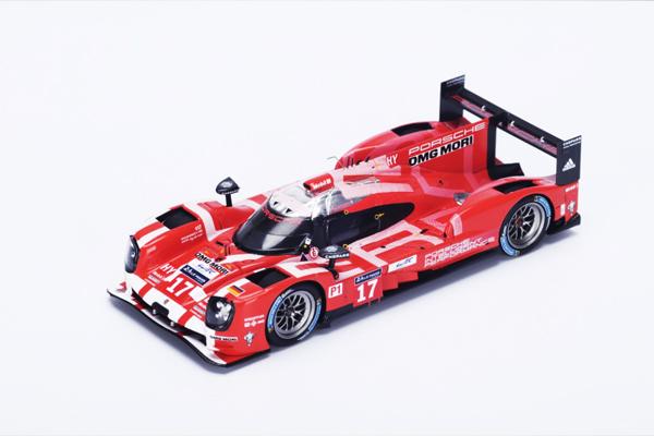 スパーク 1/43  ポルシェ 919 Hybrid 2015年ルマン24時間LMP1 2位 T. Bernhard - M. Webber - B. Hartley No.17