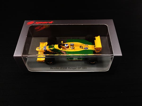 スパーク 1/43 ベネトン B193B  M.シューマッハ 1993年ポルトガルGP優勝 No.5