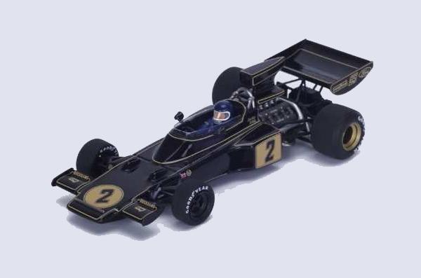 スパーク 1/43 ロータス72E J.イクス 1974年レースオブチャンピオン優勝 No.2