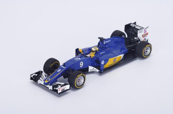 スパーク 1/43  ザウバー C35 M.エリクソン2016年オーストラリアGP No.9