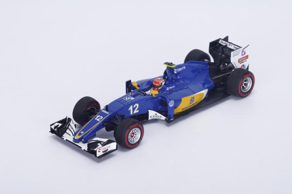 スパーク 1/43  ザウバー C35 F.ナスル(ナッサー) 2016年オーストラリアGP No.12