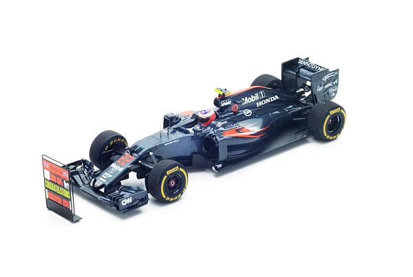 【開幕ミニカーフェアー対象】スパーク 1/43 マクラーレン・ホンダMP4-31 J.バトン No.22 2016年マレーシアGP GP300戦(with pitboard)