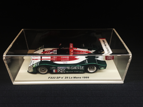 スパーク 1/43 フェラーリ 333 SP 1999年ルマン24時間レース NO.29