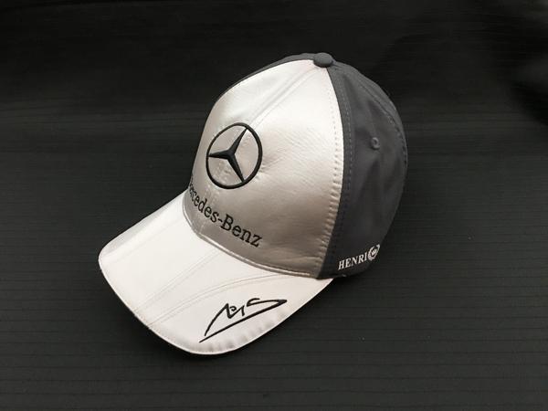 ミハエル・シューマッハ HENRILLOYD メルセデスGP 2010  ドライバーズ キャップ タグはございませんが 新品デッドストック物でございます。