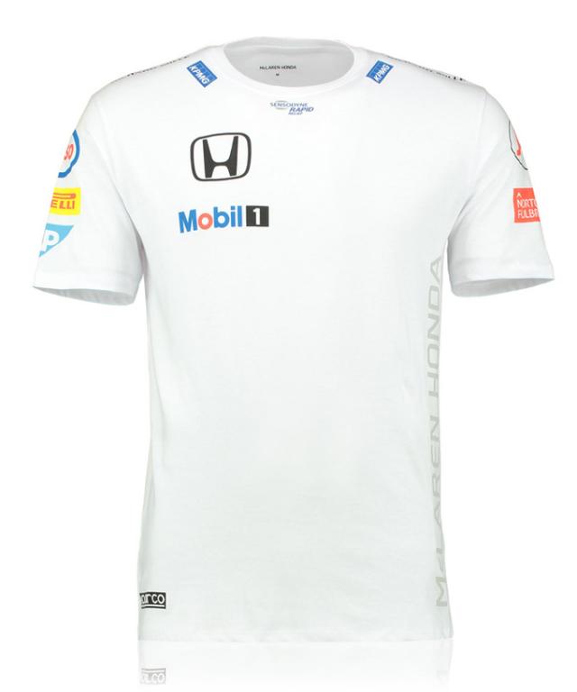 マクラーレン ホンダ 2016 チーム スポンサーTシャツ