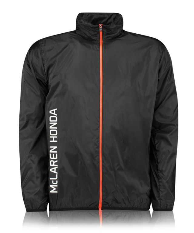 マクラーレン ホンダ ウルトラ ライトジャケット ブラック