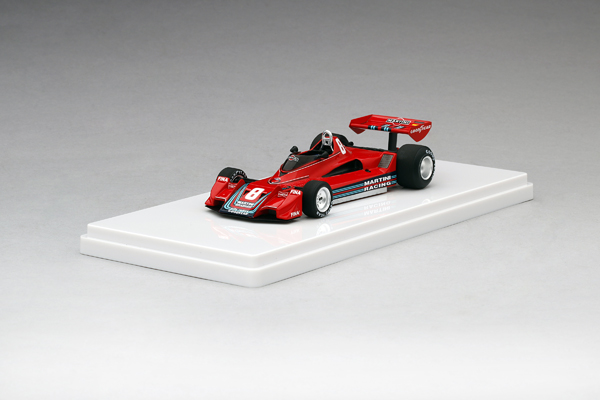 トゥルースケールモデル(TSM)1/43 アルファ ブラバム BT45B H.スタック 1977年ドイツGP 3位 NO.8