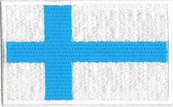 国旗ワッペン フィンランド(小)