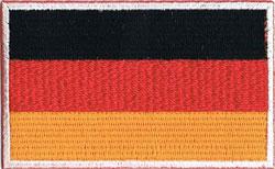 国旗ワッペン ドイツ(小)