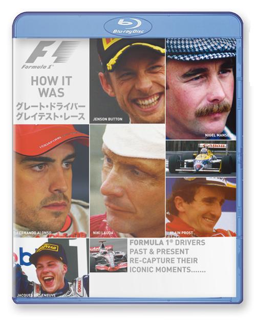 【ご予約商品】12月10日発売予定 ブルーレイ版 F1 グレート・ドライバー/グレイテスト・レース (HOW IT WAS)
