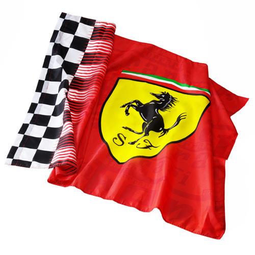 フェラーリストア限定 スクーデリア フェラーリ チェッカーフラッグ
