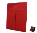 �ե��顼��iPad���С����� Ferrari Genuine Leather Tablet Folio Case Red��