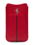 �ե��顼��iPhone5����������Ferrari Genuine Leather Sleeve Case��Red��