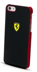 �ե��顼��iPhone5���С�����Ferrari Scuderia Rubber Hard Case��Black��