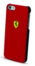 �ե��顼��iPhone5���С�����Ferrari Scuderia Rubber Hard Case��Red��
