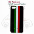 FIAT 500 Cinquecento Collection iPhone5�ϡ��ɥ��������ȥꥳ�?�롡�֥�å�