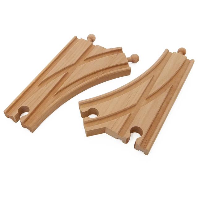 木製レール Y字 2ピース