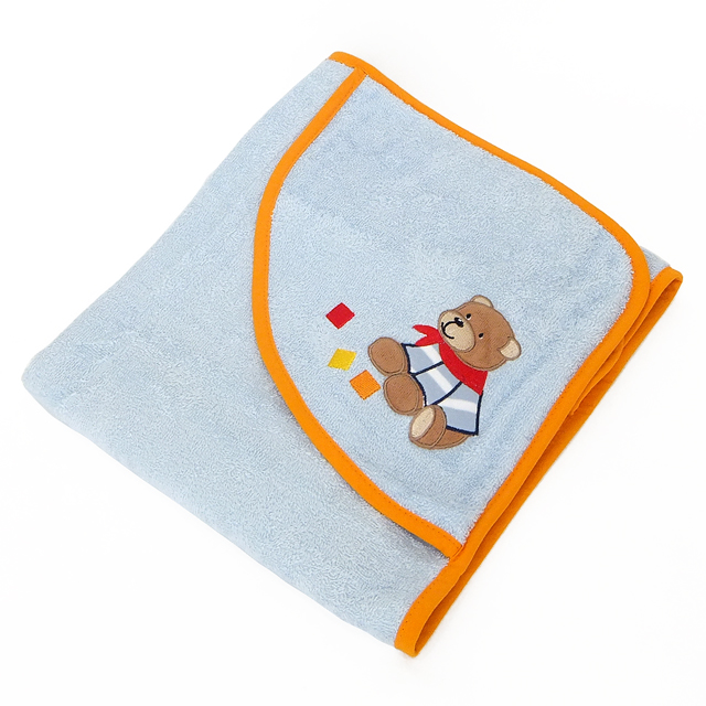 シュテルンターラー社 フード付きタオル お包み くまバスティ